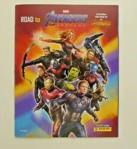 NEW +6 Stickers - Road To Marvel AVENGERS Endgame Panini Sticker Empty Album