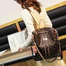 Multipurpose Women Backpack Rucksack Purse Satchel School Shoulder Leather Bag