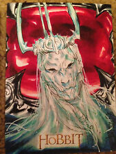 The Hobbit An Unexpected Journey Sketch Card by Archilleas Kokkinakis Witchking