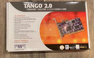 Vintage Apple Macintosh PCI Sonnet Tango 2.0 Firewire 400/USB 1.1&2.0 Combo Card