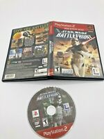 Sony PlayStation 2 PS2 Disc Case No Manual Tested Star Wars Battlefront Ships Fa