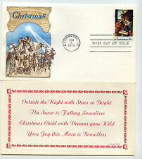 1414a Christmas 1970, Nativity precancel, Cover Craft Cachets, CCC, FDC
