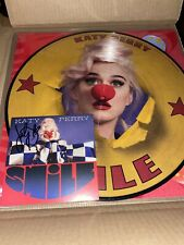 Katy Perry Smile Ltd. Picture Disc LP + Signed Art Card -IN HAND-
