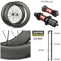 High-End Dimple Carbon Wheel DT240S DT350S Hub Sapim Spoke 700c Road Bike Wheels