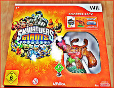 WII SKYLANDERS GIANTS BOOSTER PACK + emballage d'origine + 3 extrafiguren