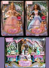 Anneliese Erika Barbie Doll Wedding Vanity Princess and the Pauper Lot 3 CK ""