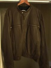 Lucky Brand Leather Motorcycle Jacket