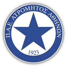Atromitos FC Athens Greece Soccer Football Car Bumper Sticker Decal 5'' x 5''