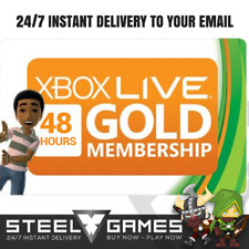 XBOX LIVE 48HOUR GOLD TRIAL Membership CODE INSTANT DISPATCH 2 DAYS