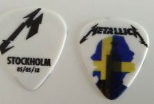 Metallica worldwired tour pick Stockholm 1st night 05/05/18 picks