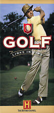 Golf: Links In Time (DVD,1999) New Sealed