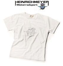 Original MV Agusta Damen T-Shirt Logo weiß Gr. L NEU Strass-Steine Donna Lady