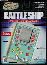 NEW BATTLE SHIP ELECTRONIC HANDHELD CREDIT CARD GAME BATTLESHIP HASBRO MB TRAVEL