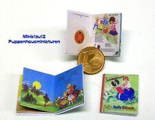 1113# Miniatur Bilderbuch Heile heile Gänsle - Puppenhaus- Puppenstube - M 1zu12