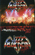 LIZZY BORDEN LIVE Cassette Tape BRAND NEW/SEALED The Muderess Metal Road Show