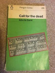 CALL FOR THE DEAD - JOHN le CARRE - PENGUIN CRIME - PAPERBACK -1964