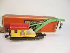 Lionel 810 Derrick Crane Nickel Trim OB Prewar O Gauge X4628