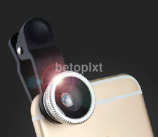3in1 Clip-On Macro Lens Camera+Fish eye+Wide Angle Camera Kit For iPhone Android