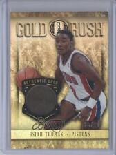 2012-13 Panini Gold Standard Rush 14k /25 Isiah Thomas #66 HOF