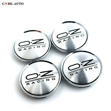 4pc 63mm/57mm Aftermarket OZ Center Caps Replace O.Z Racing Superturismo M595