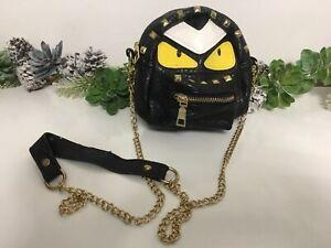 Monster Bag kleine Handtasche Grimasse Halloween Goth