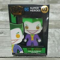 Funko POP! Pin: DC Super Heroes - The Joker #03 - Enamel Pin
