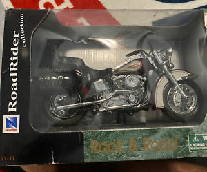 Harley Davidson Road Rider Collection New Ray Rock & Roll Cycle 53113 Sealed