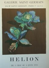 Jean HÉLION (1904-87) Lithographie de 1973 Duo de Choux Néo Fauvisme / Fauvism