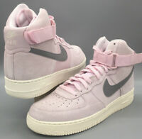 Nike Air Force 1 High 07 Arctic Pink/Dust-Sail Suede 315121-611 10.5 Men