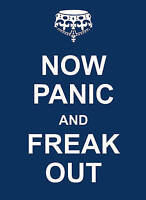 Now Panic and Freak Out by Summersdale Publishers (Hardback) New Book