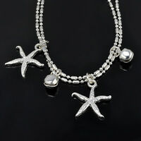 Women's Alloy Starfish Ankle Chain Anklet Bracelet Sandal Beach Foot Jewelry New