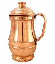 Traditional Ayurvedic Pitcher Copper Jug 1.5 Litre Water Storage Health Benefits