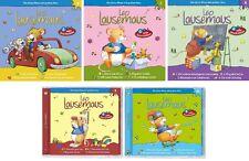5 CDs * LEO LAUSEMAUS -ORIGINAL HÖRSPIEL ZU DEN BÜCHERN  6 - 10 SET # NEU OVP KX