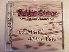FABIAN GOMEZ LA MITAD DE MI VIDA NEW 2004 CD Sony Discos Inc.