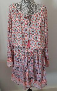 Ridley Boho Style Dress Size Med