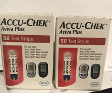 Accu-Chek Aviva Plus Diabetic Blood Glucose Test Strips 2x