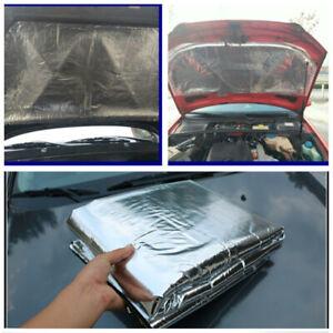 Heat Deadener Mat Sound Noise Insulation Hood Fiberglass Pad For Car 1x1.4mx10mm