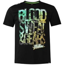 No Fear Mens Moto Graphic T-Shirt Crew Neck Short SleeveCasual Top Sizes  M 2XL