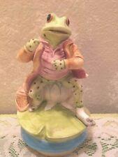 1977 Beatrix Potter Music Box Mr Jeremy Fisher Frog Schmid, Free Shipping