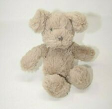 "Jellycat Small Beige Puppy Dog Soft Toy Baby 7"" Stuffed Plush Lovey"