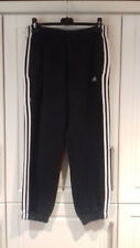 mens size M 100% cotton top quality expensive NAVY adidas jog bottoms