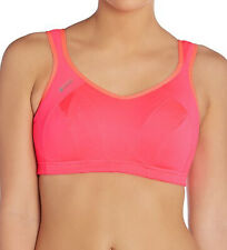 Shock Absorber Active Multi Sports Womens Support Bra Pink Gym Run Workout Yoga