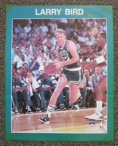 "1988 Starline LARRY BIRD POSTER 20"" x 16"" Boston Celtics Legend Hall of Fame"