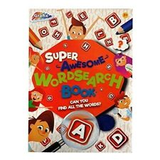 Grafix Super Awesome Wordsearch Book. Children's Home Learning Activity