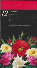 Canada Booklet BK245 47c Roses.  2001  CV 12.50