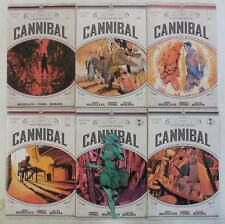 6x CANNIBAL Comic # 1 2 3 4 5 6   ~ IMAGE ~ Buccellato / Young ~ NM/UNREAD