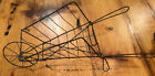 Vintage Metal Wire Wheelbarrow Plant Stand Holder 12