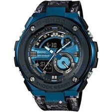 Casio G-Shock G-Steel GST-200CP-2A Blue Crystal Pattern Men's Sports Watch
