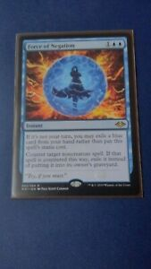 Magic the Gathering Force of Negation x1