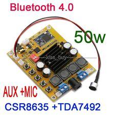 TDA7492 50Wx2 Bluetooth 4.0 Audio Receiver Digital Amplifier AUX verstärker 12v